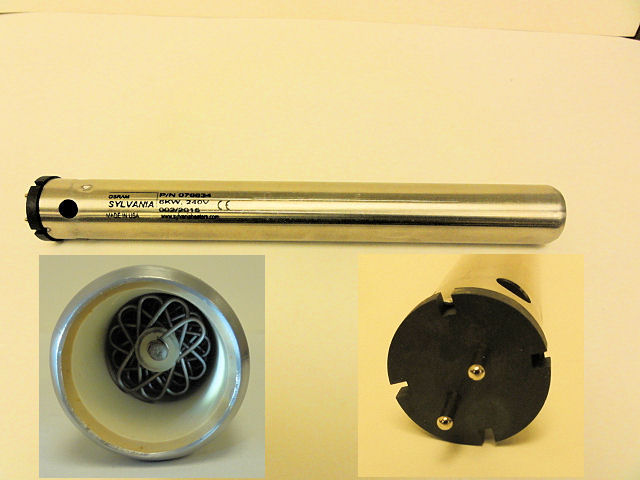 076634 Sylvania Hot Air Heater Serpentine VI --6,000 Watts