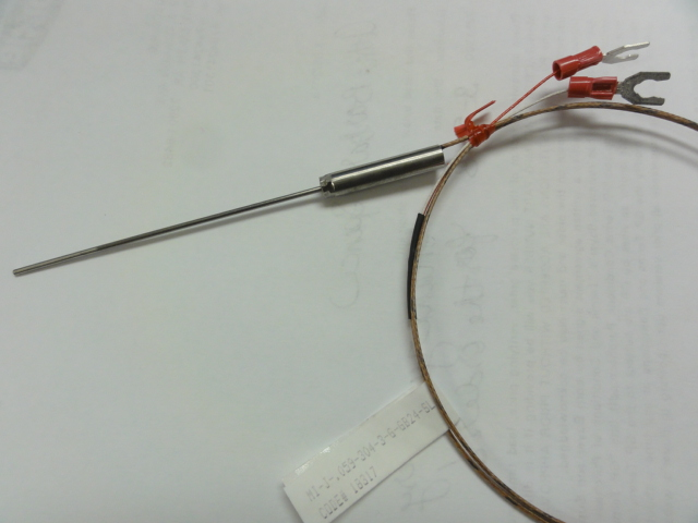 Tcc1.5x75 Similar Type J Thermocouple-mineral Insulated