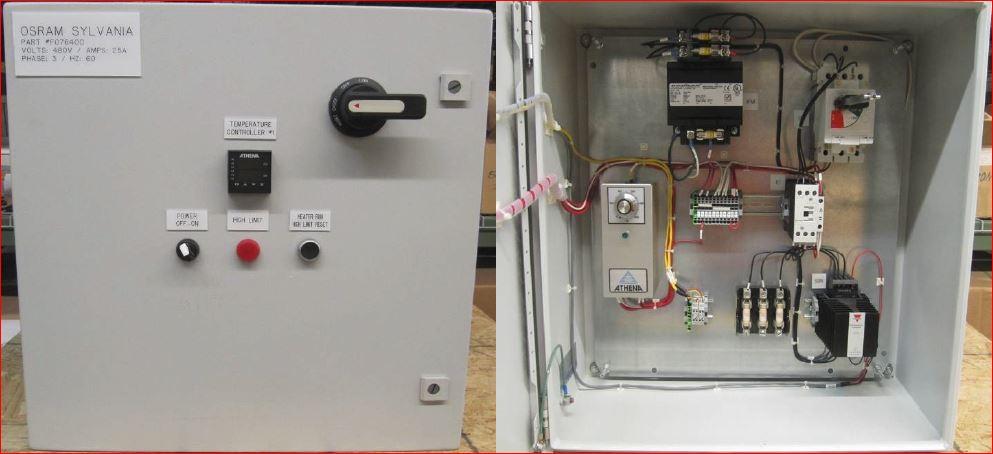 076756 TUTCO SUREHEAT MAX/MAX HT CONTROL PANEL 480V 3P 60A 60Hz