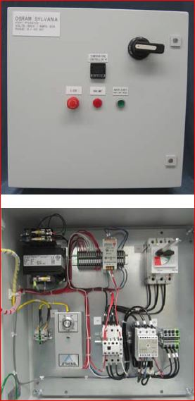 076906 SUREHEAT MAX/MAX HT CONTROL PANEL 380/400V 3P 50/60A 60Hz