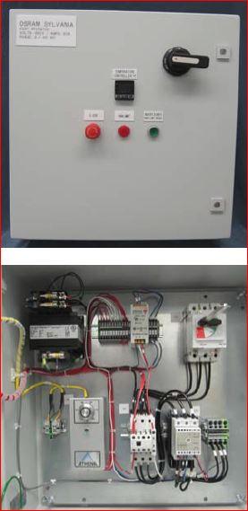 076906 TUTCO SUREHEAT MAX/MAX HT CONTROL PANEL 380/400V 3P 50/60A 60Hz