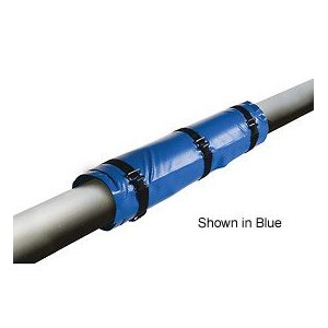 "4 TO 5"" Diam. X 5' Long Heated Pipe Wrap, Roughneck 160/320 Watts 120 Volts"