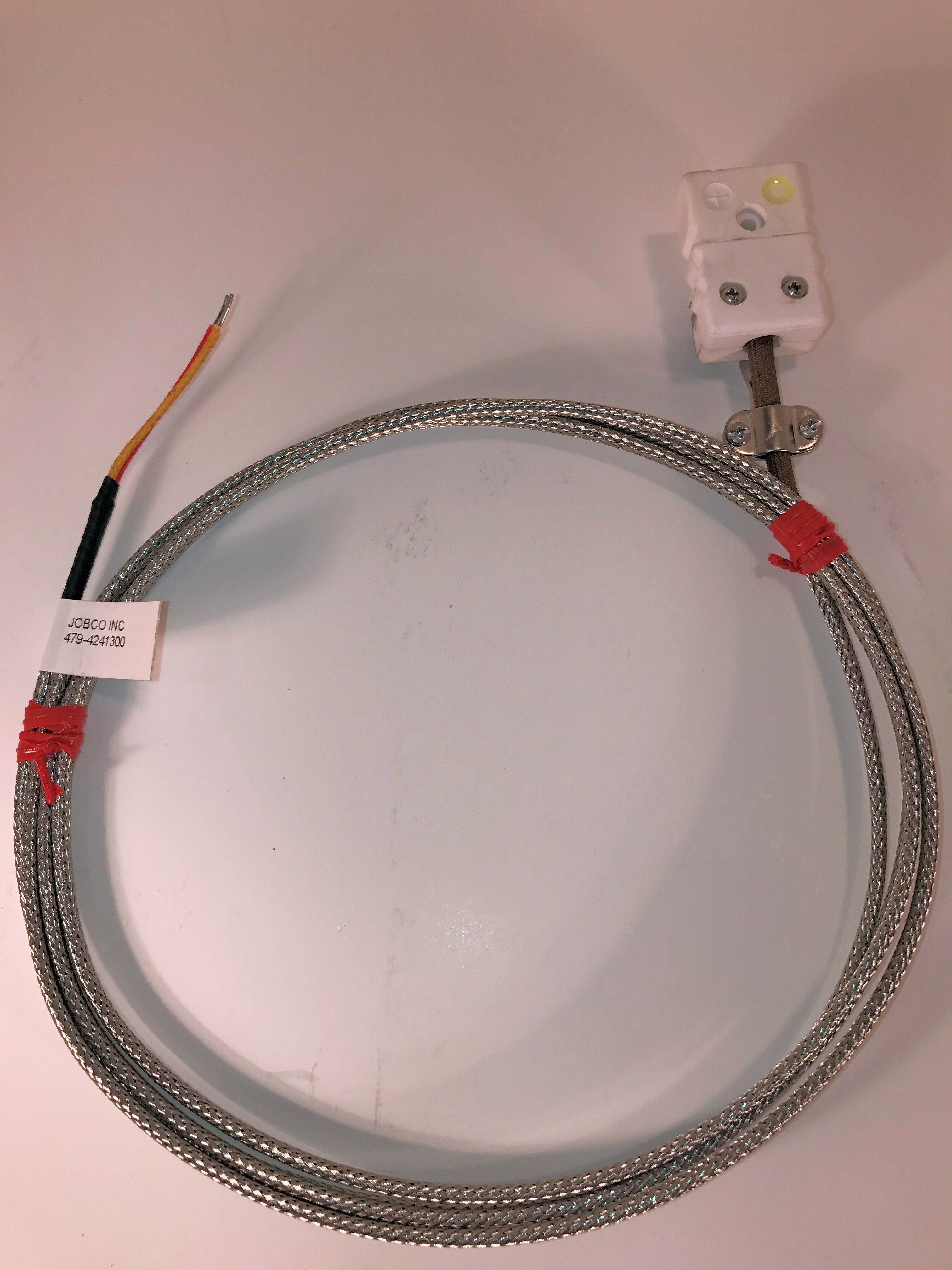 206119EXT TUTCO SUREHEAT Hot Air Heater Type K Thermocouple Extension